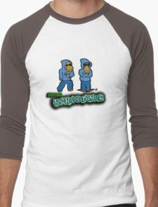 The Flight of the Conchords - The Hiphopopotamus Men's Baseball ¾ T-Shirt