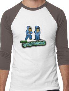 The Flight of the Conchords - The Hiphopopotamus Men's Baseball ¾ T-Shirt