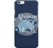 Snorlax Sleep Aid iPhone Case/Skin