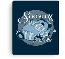 Snorlax Sleep Aid Canvas Print