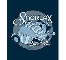 Snorlax Sleep Aid Photographic Print