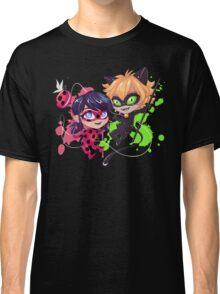 Chibi Time! Ladybug & Cat Noir Classic T-Shirt