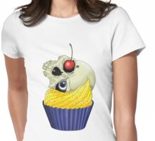 Cherry On Top Womens Fitted T-Shirt