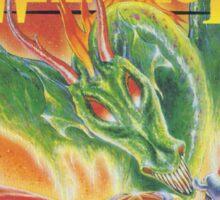 Dragon Warrior Sticker