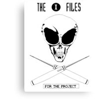 TXF: For The Project Canvas Print