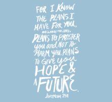 Jeremiah 29:11 II One Piece - Short Sleeve