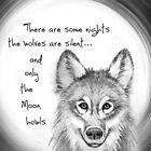 Only the Moon howls by Rhana Griffin