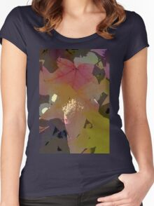 Leaves 8 Women's Fitted Scoop T-Shirt