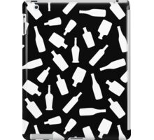 Black and White Bottles iPad Case/Skin