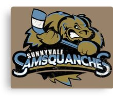 Sunnyvale Samsquanches Canvas Print