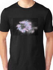 Pink & Grey Outer space. Exclusive Original  Surreal and Abstract  Photo Art. Unisex T-Shirt