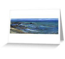 Kona Village Coastline Greeting Card