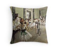 Edgar Degas - The Ballet Throw Pillow