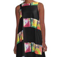 squares A-Line Dress