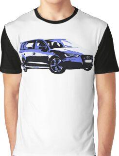 Awesome AUDI RS3 S3 VAG VW JDM - Street Car sports hatchback art Graffiti Popart  warhol Graphic T-Shirt