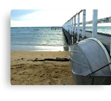 By The Pier ~ Sorrento Canvas Print