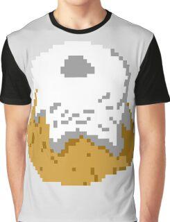 Pixel Sweetroll Graphic T-Shirt