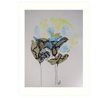 Floral Earth Art Print