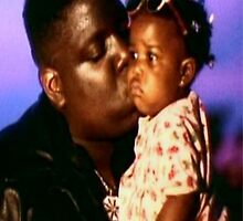 Biggie Smalls Kissing Daughter by TRiles23