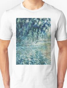 Claude Monet - Morning on the Seine (1898)  Unisex T-Shirt