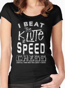 Blake's 7 -  The Klute  Women's Fitted Scoop T-Shirt