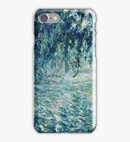 Claude Monet - Morning on the Seine (1898)  iPhone Case/Skin