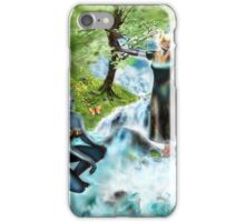 Spirits of the Water {Digital Fantasy Figure Illustration} iPhone Case/Skin
