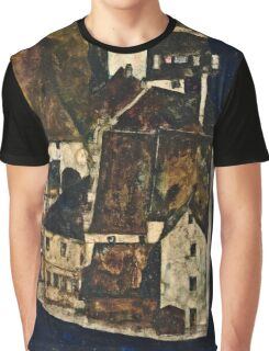 Egon Schiele - Dead City III (City on the Blue River III) (1911)  Graphic T-Shirt