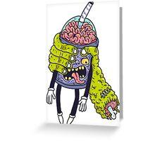 Brainshake Greeting Card