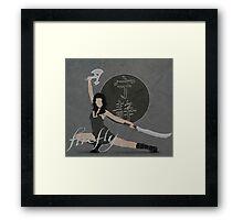"""Firefly """"River Tam"""" Framed Print"""