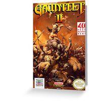 Gauntlet 2 Greeting Card