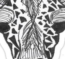 Apathetic Giraffe  Sticker