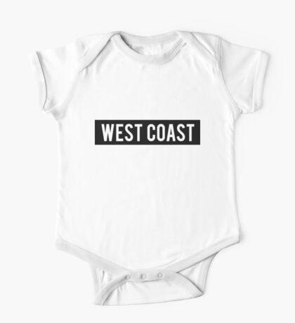 West Coast Sign One Piece - Short Sleeve