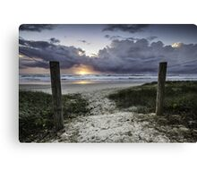 Welcome to Sunrise - Lennox Head Canvas Print