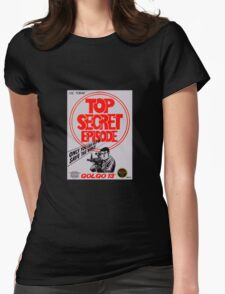 Golgo 13 Womens Fitted T-Shirt