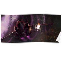 Fate Zero Berserker Plane Poster