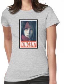 (FINAL FANTASY) Vincent Valentine Womens Fitted T-Shirt