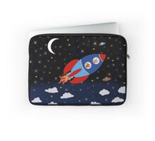 Space - Rocket - Cat - Dog Laptop Sleeve