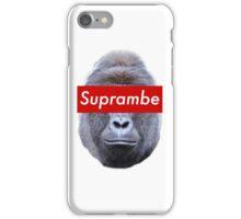 Supreme/Harambe Collab (Suprambe) #RIP iPhone Case/Skin