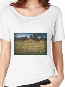 Boundary Fence Women's Relaxed Fit T-Shirt