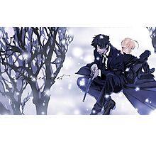 Fate Zero Saber and Kiritsugu Emiya Photographic Print