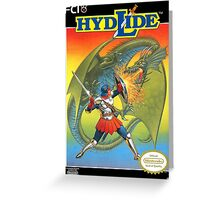 Hydlide Greeting Card