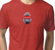 Supreme/Harambe Collab (Suprambe) #RIP Tri-blend T-Shirt