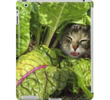 Green is good for the eyes... well, have you ever seen a Rabbit with Glasses? iPad Case/Skin