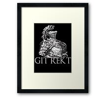 Havel The Rock (GIT REKT)  Framed Print