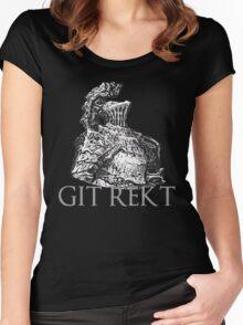 Havel The Rock (GIT REKT)  Women's Fitted Scoop T-Shirt