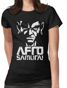 Afro Womens Fitted T-Shirt