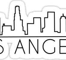 L.A. Skyline  Sticker