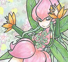 A Flower Fairy by RenaInnocenti