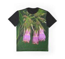 PURPLE FLOWERS Graphic T-Shirt